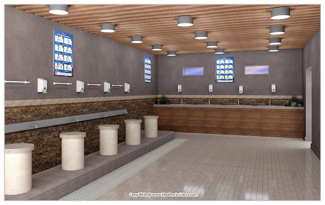 Mosque Wazu Area Idea