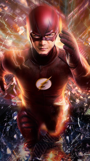 The Flash 1080p phone wallpaper