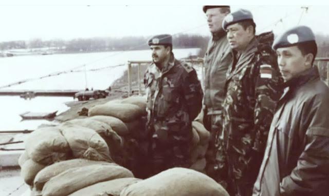 Keren! Potret Gagah SBY Pimpin Pasukan Garuda XIV di Tengah Amukan Perang Bosnia