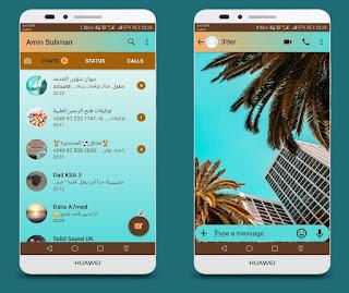 Palm Trees Theme For YOWhatsApp & Fouad WhatsApp By Ameen
