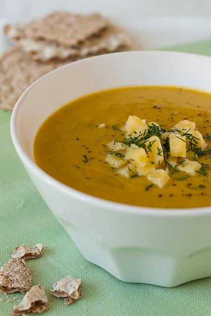 Krem supa od brokolija i krompira sa sirom