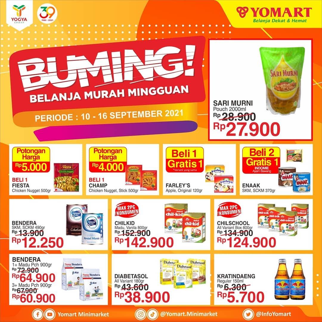 Promo YOMART Belanja Murah Mingguan 10 - 16 September 2021