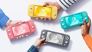 Nintendo Switch Lite, consolas y videojuegos