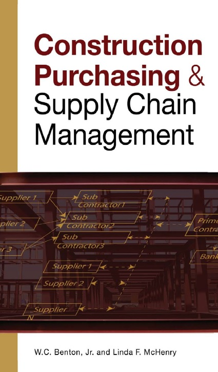 Construction Purchasing and Supply Chain Management