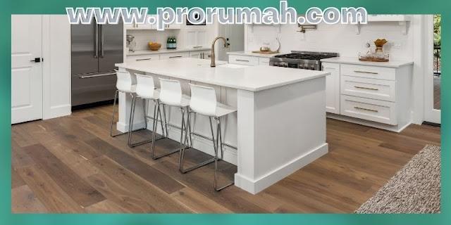 Tips Dekorasi Dapur Minimalis - jenis lantai yang digunakan