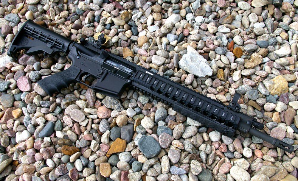 Ruger SR-556C AR15 Rifle Review