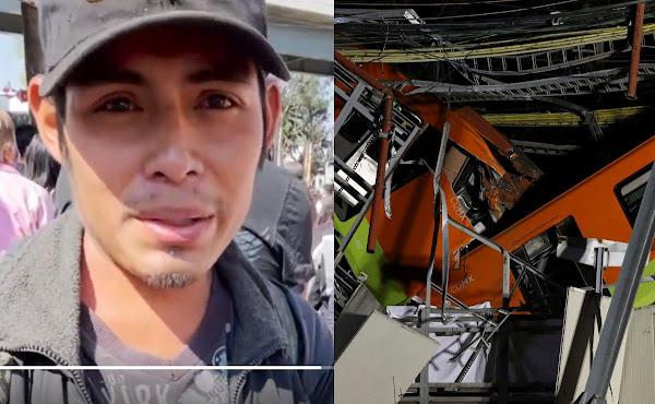 Miguel, el joven vagabundo que narró tragedia en Línea 12, llevaba siete años desaparecido