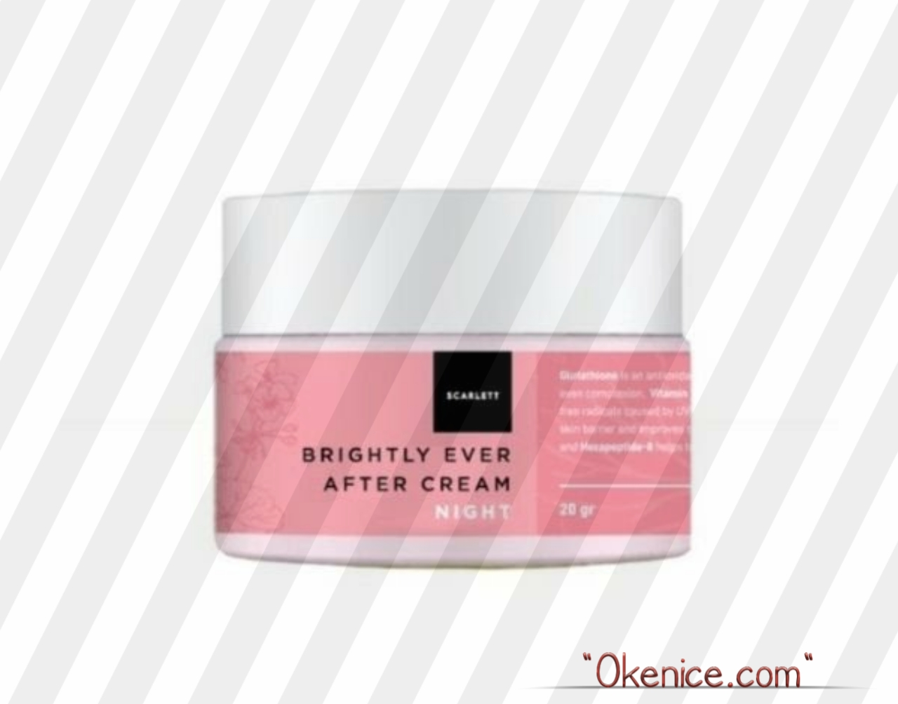 Gambar Scarlet Whitening Brightly Ever After Night Cream
