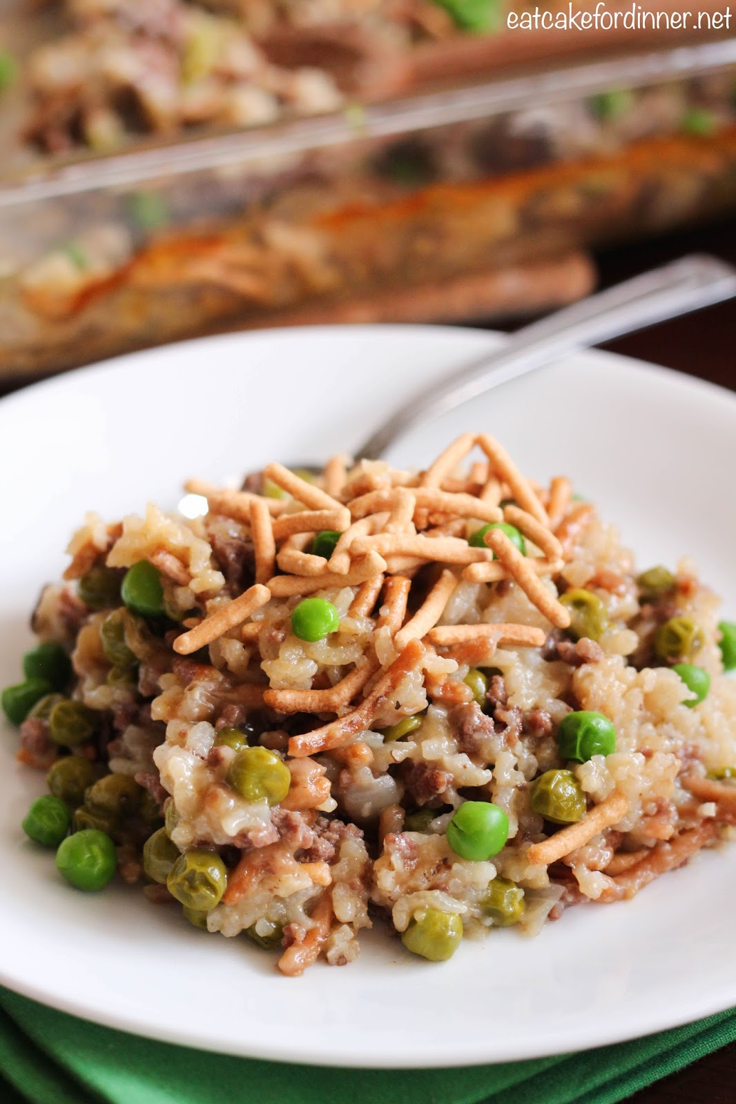 Eat cake for dinner chinese noodle hamburger casserole chinese noodle hamburger casserole forumfinder Gallery