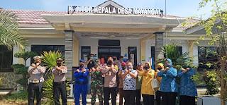 Kapolres Subang Wakili alumni AKABRI 89 Bagikan 500 Paket Sembako