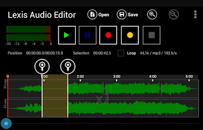 تطبيق Lexis Audio Editor