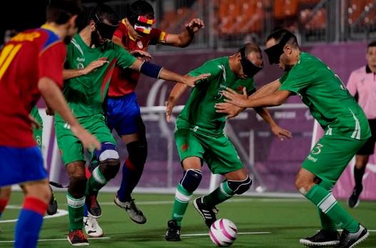Hakimi félicite l'équipe nationale aveugle pour le 'Bronze Paralympic'