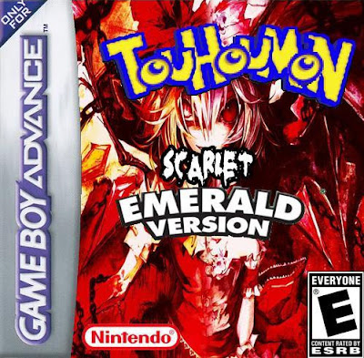 Touhoumon Scarlet Emerald GBA ROM Hack Download