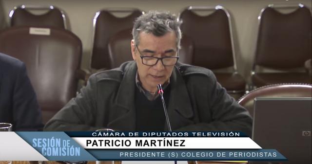 [VIDEO] Patricio Martínez Torres en comisión de Cámara de Diputados por Ley de Colegios Profesionales