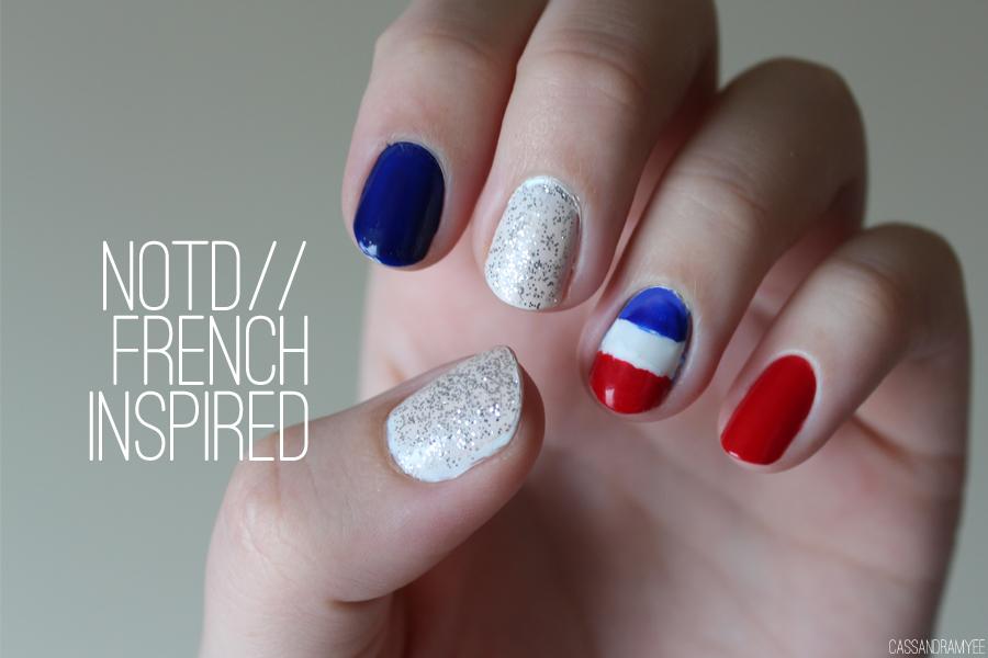 NOTD | French Inspired Nail Art Design | CassandraMyee | NZ Beauty Blog