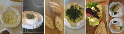 Zubereitung Camemburger mit Josta-Chutney