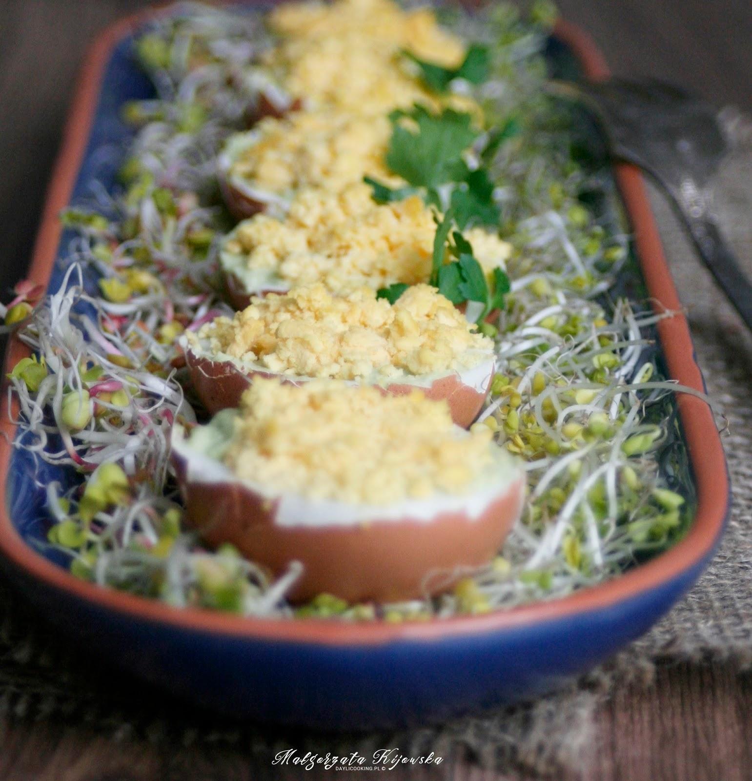 wielkanocne śniadanie, błyskawiczne jajka
