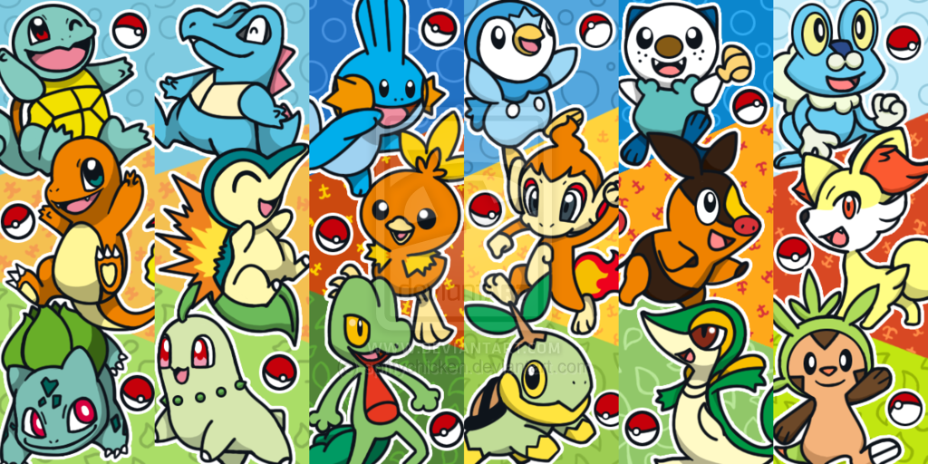 pokémon iniciais pokémon blast news