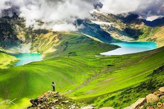 Places to visit in Jammu and kashmir (Kashmir great lakes trek  )