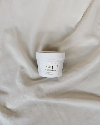 review saturday looks minty clay mask