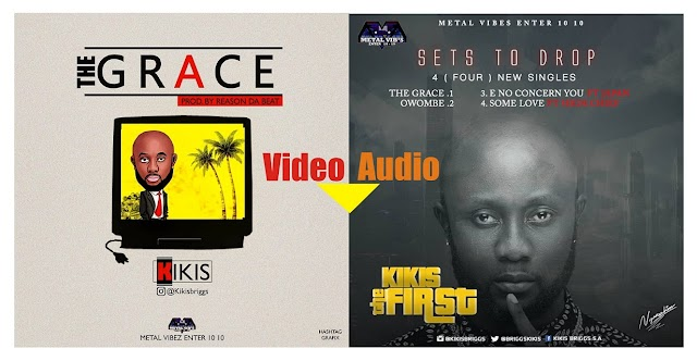 Audio/Video: Kikis - The Grace + 3hitTracks @kikisbriggs