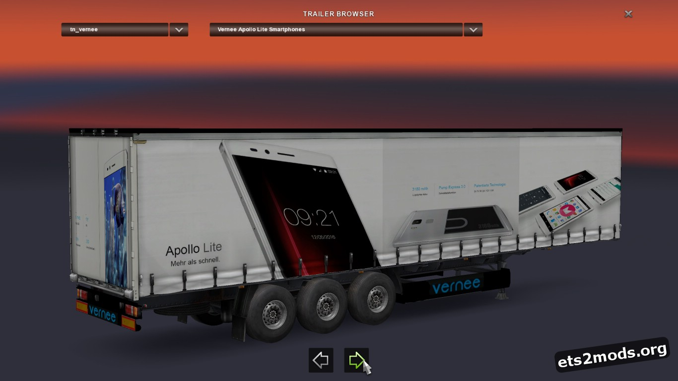 Trailer Vernee Apollo Lite