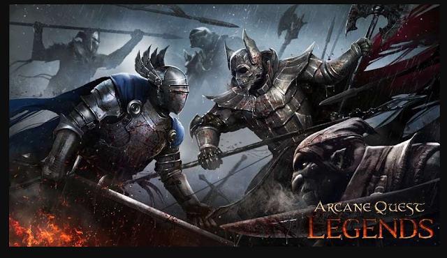 Download Arcane Quest Legends APK Acts Unlocked 1.2.8