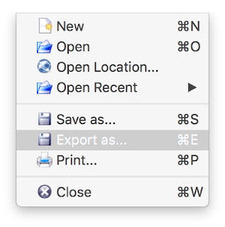 come salvare djvu in pdf con djview su mac