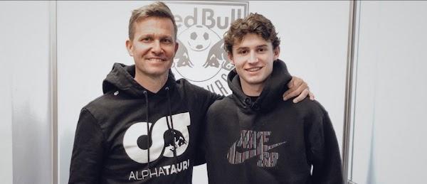 Oficial: Red Bull Salzburgo, firma Aaronson