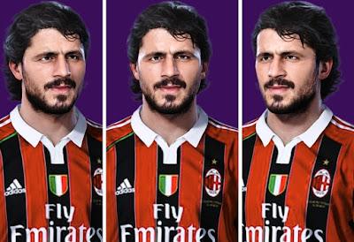 PES 2021 Faces Gennaro Ivan Gattuso by Alireza