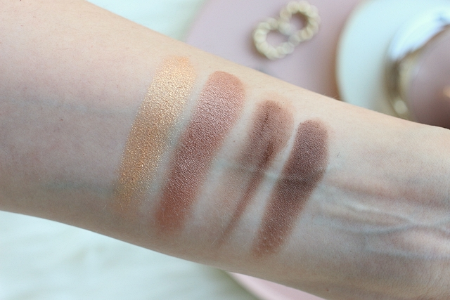 Clarins Ombre 4 Couleurs in 04 Brown Sugar Gradation