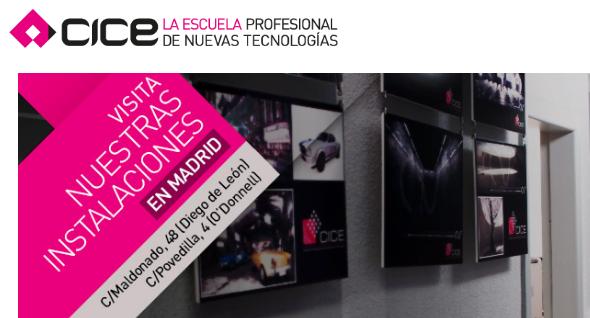Escuela CICE Madrid: Escuela profesional de nuevas tecnologías