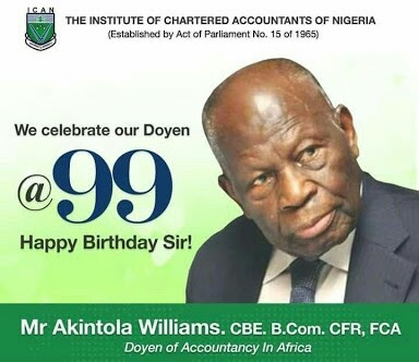Meet Akintola Williams, First Chartered Accountant In Africa