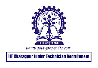 IIT Kharagpur Junior Technician Recruitment