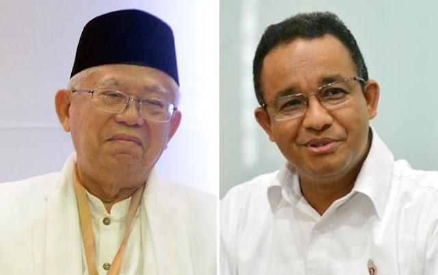 Maruf Amin Bilang 'Habisi Ahok' demi Tolak Pencapresan Anies, Ini Komentar Anies