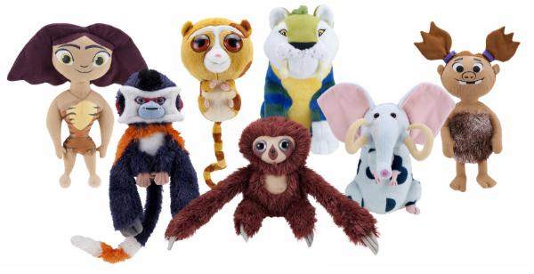 The Croods: Stuffed Critters & Characters Now On Sale!