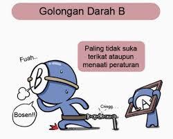 Pola Sehat Sesuai Golongan Darah B