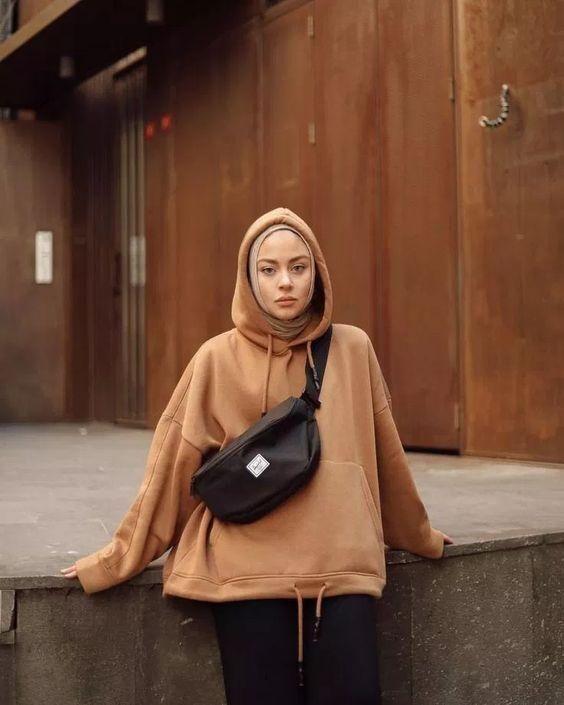 Hoodie and Hijab