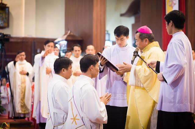 Lễ truyền chức Phó tế và Linh mục tại Giáo phận Lạng Sơn Cao Bằng 27.12.2017 - Ảnh minh hoạ 26