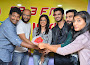 Ekkadiki Pothavu Chinnavada unit at Radio Mirchi