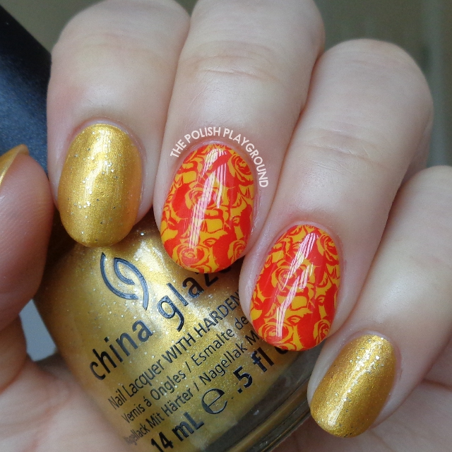 Beauty and the Beast Inspired Nail Art