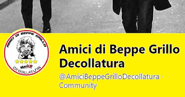 Il gruppetto di Amici di Beppe Grillo fuori dall'alleanza con Partito Democratico, Agorà e Io Decollo?