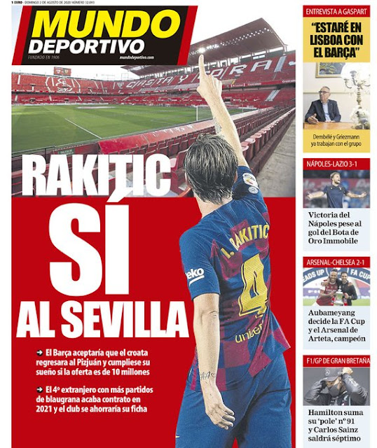 Regreso Rakitic Sevilla