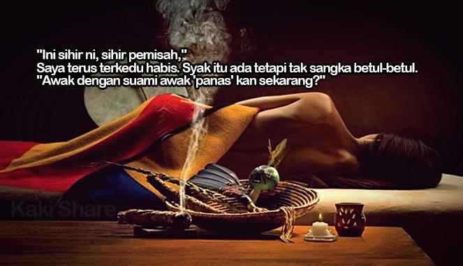 Image result for Sihir Pemisah Suami Isteri