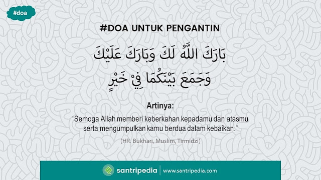'Barakallahu laka' Doa untuk Pengantin Sesuai Sunnah