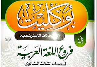 14 نموذج إختبار تجريبي شامل لغة عربية ثانوية عامة نظام جديد