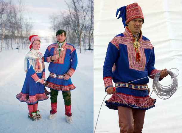 Magical Mystical: Fashion Inspiration from the Nordic Sami ...
