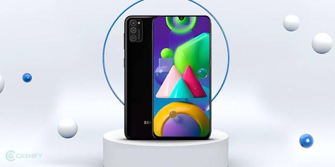 Samsung Galaxy M21 mobile phone