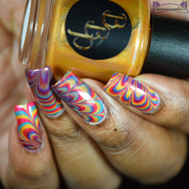 Watermarble Wednesdays: Bad Bitch Polish Summer Playlist Holos