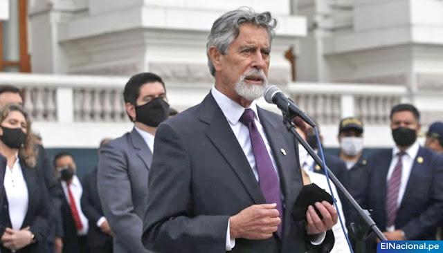Presidente del Perú, Francisco Sagasti